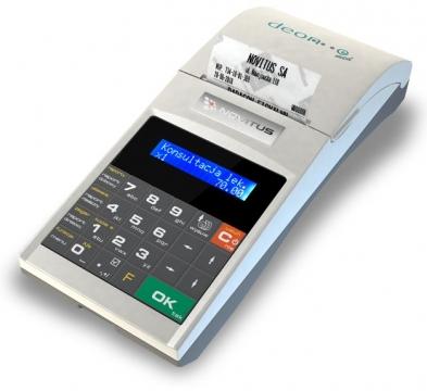deon-e. Drukarka fiskalna do podłączenia w system sprzedaży fidkslnej POS.